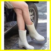 店長推薦★雨鞋女韓國可愛夏季時尚中筒水靴休閑套鞋防滑水鞋膠鞋成人雨靴