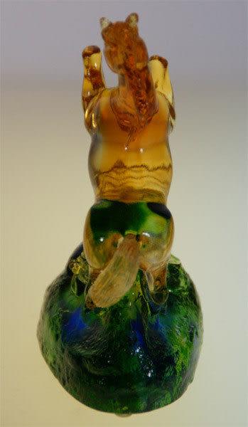 鹿港窯~居家開運水晶琉璃~ 一馬當先◆附精美包裝◆附古法制作珍藏保證卡◆免運費送到家