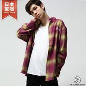 格紋法蘭絨襯衫 秋季長袖純棉上衣 CHEAP MONDAY