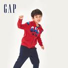 Gap男童徽標LOGO衛衣538481-熱情紅