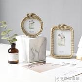 相框輕奢簡歐風創意樣板房間臥室歐式家居婚慶個性裝飾品6寸擺台