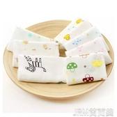 嬰兒紗布口水巾方巾喂奶雙層高密紗布手帕寶寶洗臉小毛巾兒童幼兒 簡而美