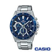 CASIO卡西歐 經典科技時尚設計男腕錶-藍x42mm EFV-570D-2A