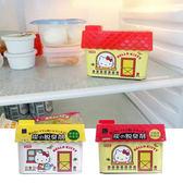 日本 Hello Kitty 備長炭冰箱除臭劑 150g 冷藏庫用 野菜室用 消臭劑 除臭 抗菌 蔬菜 水果 冰箱 冷藏