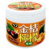 綠得製菓 金桔檸檬喉糖 200g【康鄰超市】
