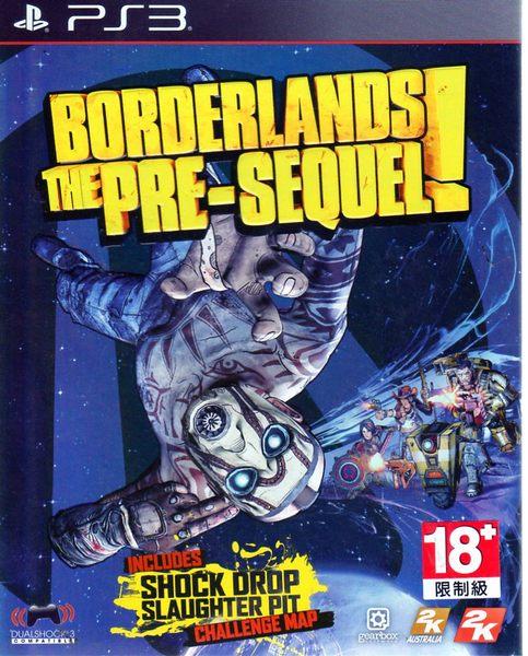 PS3遊戲 邊緣禁地 續集前傳 Borderlands The Pre-Sequel 英文版    【玩樂小熊】