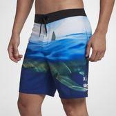 Hurley PHANTOM CLARK WEEK 18 海灘褲-PHANTOM-藍(男)