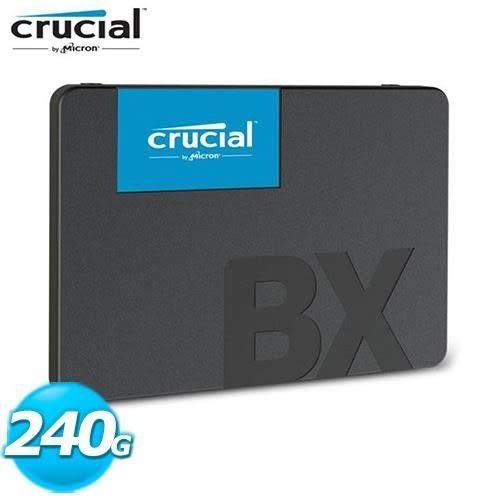 【台中平價鋪】全新 美光 Micron Crucial BX500 240GB SSD 固態硬碟
