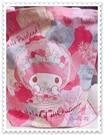 小花花日本精品 美樂蒂Melody提袋帆布提袋+吊飾40周年紀念款日本限定42104605