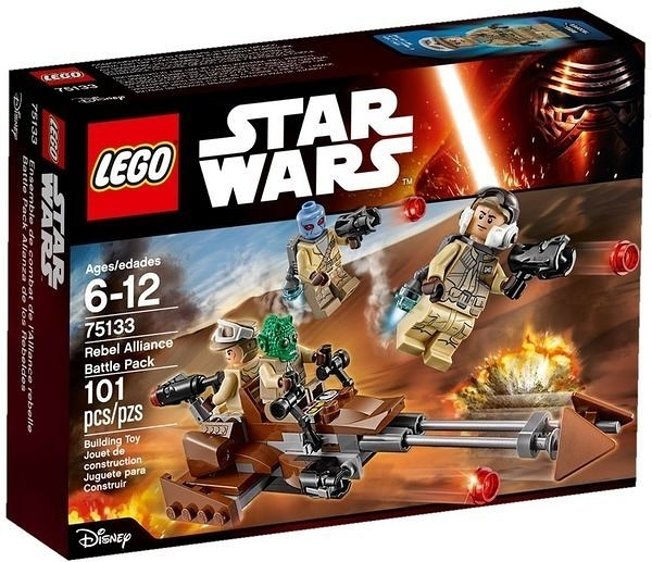 75133【LEGO 樂高積木】星際大戰 原力覺醒 Rebel Alliance Battle Pack