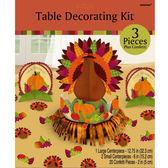 感恩節 裝飾 佈置 立體擺飾組-火雞