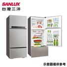 【SANLUX台灣三洋】528L變頻三門冰箱SR-C528CV1A