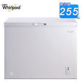 Whirlpool惠而浦 255L臥式直冷冰櫃 WCF255W1 (白)~含拆箱定位