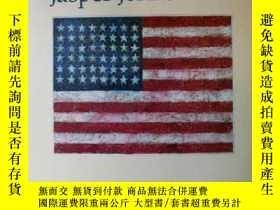 二手書博民逛書店The罕見Drawings of Jasper JohnsY34