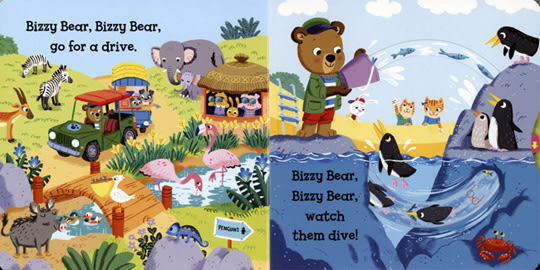 【Bizzy Bear 可愛操作書】 BIZZY BEAR: ZOO RANGER/硬頁書