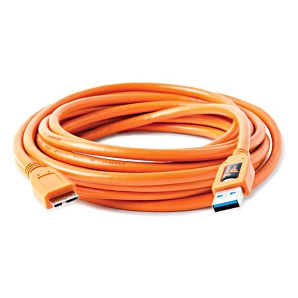 黑熊館 Tether Tools CU5454 USB 傳輸線 A公轉 MICRO B 專業聯機拍攝線