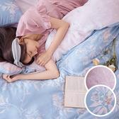 床包兩用被組 / 雙人【綠葉扶花】含兩件枕套 60支天絲 戀家小舖台灣製AAU215