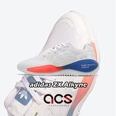 【五折特賣】adidas 休閒鞋 ZX Alkyne 白 紅 藍 男鞋 Boost 緩震中底 三葉草 運動鞋 【ACS】 FV2315