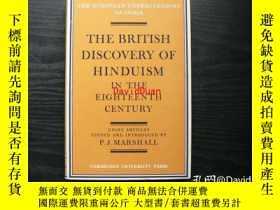 二手書博民逛書店The罕見British discovery of Hinduism in the eighteenth cent