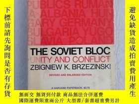 二手書博民逛書店THE罕見SOVIET BLOC UNITY AND CONFLICT ZBIGNIEW K BRZEZINSKI