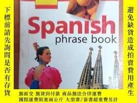 二手書博民逛書店Spanish罕見Phrase Book (AA Essenti