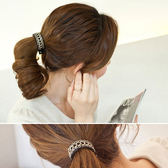 髮飾 蕾絲 金屬 清新 氣質 髮圈 髮飾【DD41503】 icoca  05/04