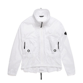 National Geographic 女 WIND JKT 風衣外套 白色 N192WJP030010【GO WILD】