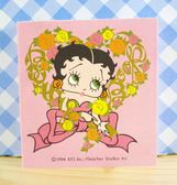 【震撼精品百貨】Betty Boop_貝蒂~便條本-粉玫瑰