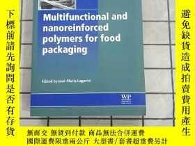 二手書博民逛書店Multifunctional罕見and Nanoreinforced Polymer... 進口原版 Y26