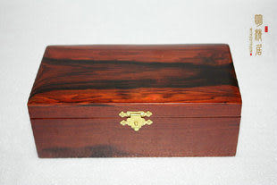 大紅酸枝首飾盒