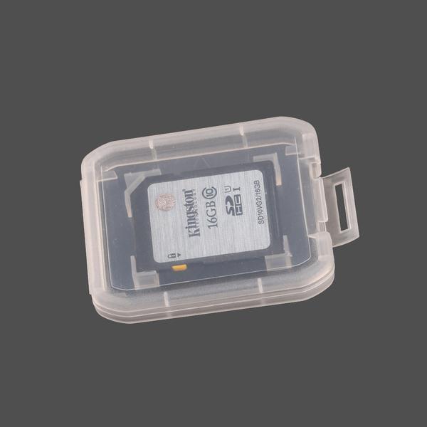 ◎相機專家◎ 免運費 CameraPro SD透明記憶卡盒 SDXC 內存卡收納盒 可收納1SD 方便攜帶 防塵