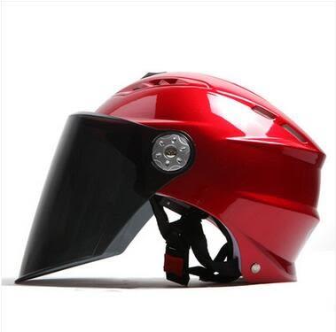 夏季輕便半盔防曬紫外線摩托機車安全帽Eb15088『M&G大尺碼』