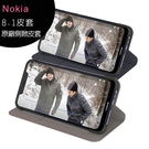 NOKIA 8.1 原廠側掀式皮套 (內容物不包含手機)◆送透明保貼