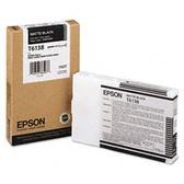 【EPSON】T612800消光黑繪圖機墨水匣9880