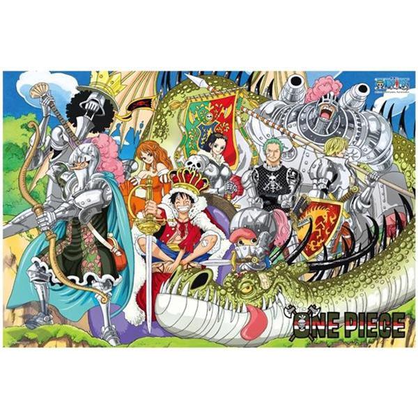 【P2 拼圖】海賊王/航海王/ONE PIECE 盔甲騎士與龍(1000pcs) HP01000-114