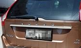 【車王汽車精品百貨】Volvo 2009-2013 XC60 尾門飾條 尾標飾條 後飾條 尾飾條 尾門上飾條