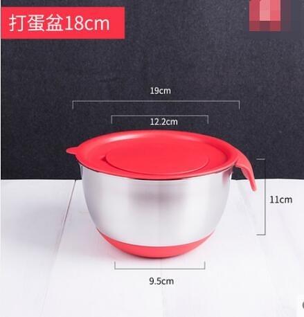 烘焙工具加厚加深不銹鋼打蛋盆