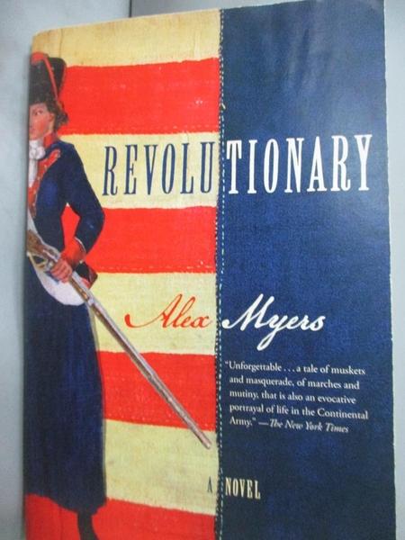 【書寶二手書T5/一般小說_GGR】Revolutionary_Myers, Alex