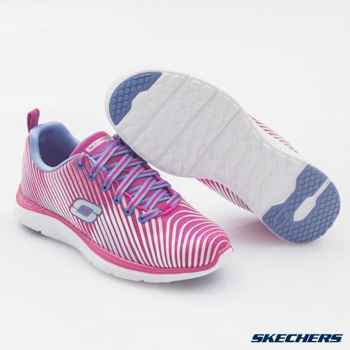 【零碼US8.5】SKECHERS  (女) 運動系列 VALERIS - 12138PKPR 記憶型泡棉鞋墊 【陽光樂活】