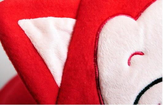 【Sexy cat】可愛阿狸造型披肩 秋冬必備懶人毯/袖毯/冷氣毯/宅人披肩