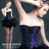 馬甲 拉夢爾蕾絲舞動塑身馬甲三色紫-束身、表演服_蜜桃洋房