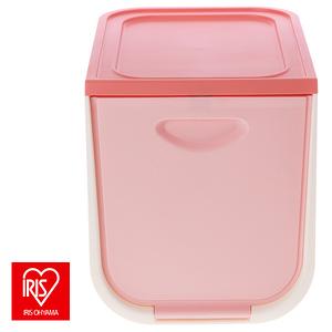 日本 IRIS 磁吸整理箱 FLP-S 粉色款 17L