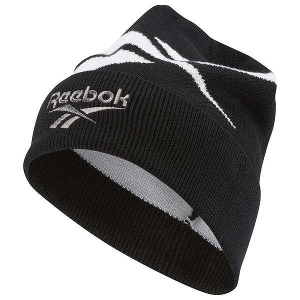 REEBOK CLASSICS LOST AND FOUND 帽子 毛帽 保暖 黑 【運動世界】 DH3554