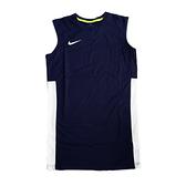 Nike AS M League REV Tank [839436-451] 男 籃球 背心 透氣 單面 長版 深藍