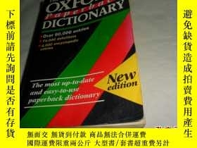 二手書博民逛書店OXFORD罕見Paperback DICTIONARYY284