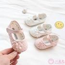 學步鞋 2019春夏女寶寶學步鞋半涼鞋0-1-2-3歲嬰兒 涼鞋幼兒軟底公主童鞋