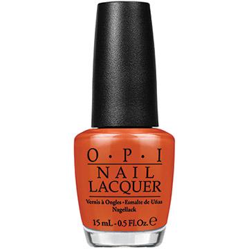 OPI 魅力威尼斯 微笑甜橙 指甲油 NLV26 V26