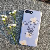 原創oppo日繫r15兔子手機殼r9s冷淡風保護套r11s網紅款套r17花朵 店慶降價