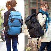 大容量旅行背包心花路放旅游雙肩包女潮韓版書包防水登山電腦包男 【PINKQ】