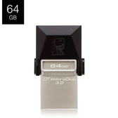 Kingston 金士頓 DataTraveler microDuo 3.0 DTDUO3 USB3.0 64G B OTG 隨身碟